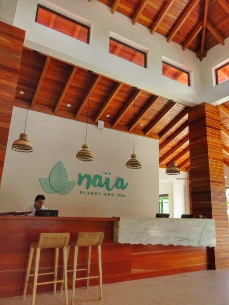 Front Desk Naia Resort Placencia Belize