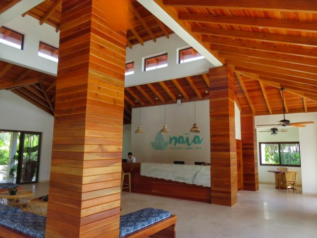 Front Desk, Naia Resort and Spa, Placencia, Belize
