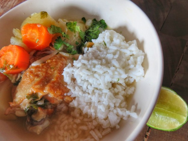 Belize Chicken Soup
