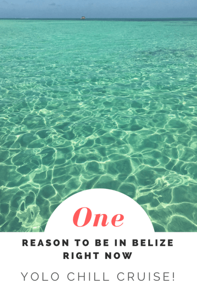 What a GREAT way to see the water around Ambergris Caye #Belize. Snorkel...cocktail...and just float on the endless blue...