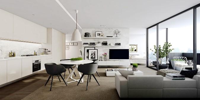 ideas para decorar un apartamento estudio