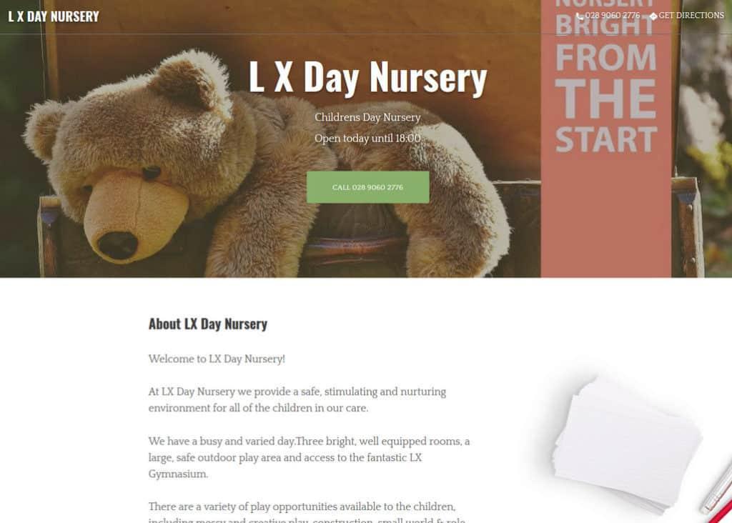LX day nursery GMB