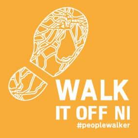 Walk it off NI logo