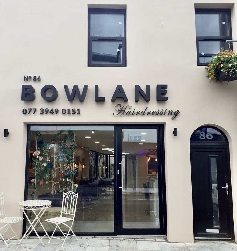 Bowlane Hairdressing front
