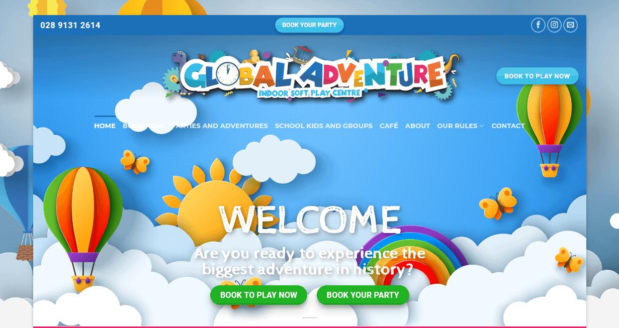 Screenshot of www.globaladventureplay.com