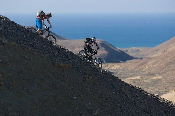 Mountain Biking at Solo Sports at Punta San Carlos Surf Camp in Baja California, Mexico