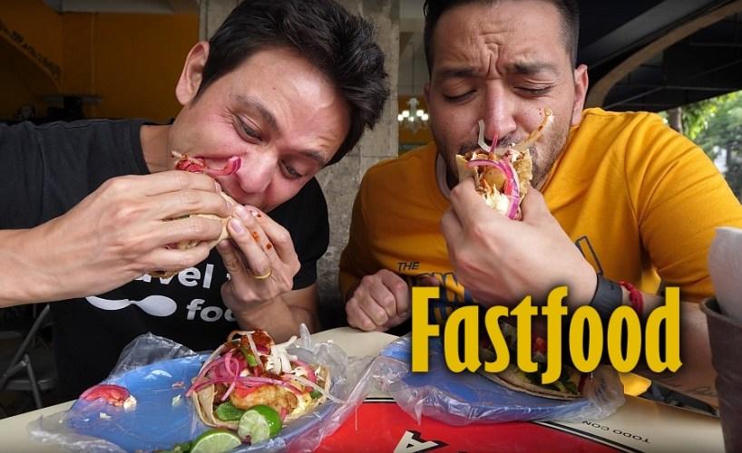 Fastfood in San Quintin, Baja California Mexico