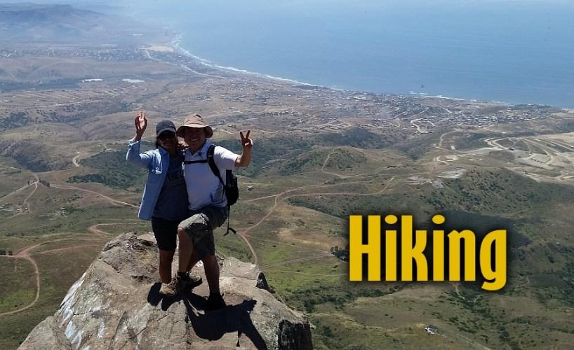 Hiking Trails in San Quintin, Baja California Mexico
