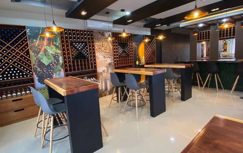 Vinícola de Becerra Wine Tasting Room in Vincente Guerrero, San Quintin, Baja California, Mexico