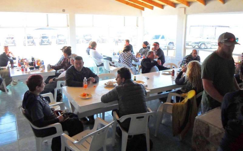 La Ostionera Restaurant at Ostiones Guerrero in Bahia Falsa, San Quintin, Baja California Mexico