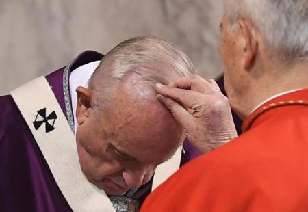 Omelia di Papa Francesco nella Celebrazione del Mercoledì delle Ceneri