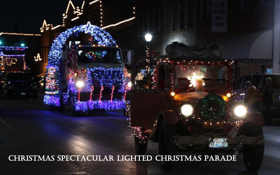 Lighted Christmas Parade San Saba Texas