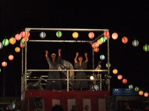 8月15日(金)「南三陸ギガ盆踊り大会」の模様