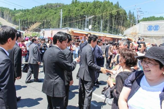 内閣総理大臣 阿部晋三