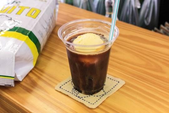 ヤマウチの極上コーヒーフロート!