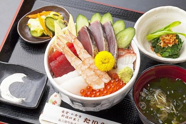 南三陸キラキラ秋旨丼【寿司・御食事処 たいしゅう】