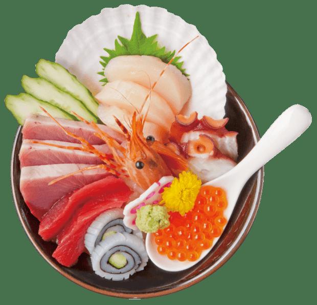 創菜旬魚はしもとのキラキラ丼