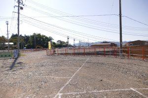新仮駐車場供用開始及び、第2・第3・第4駐車場利用終了について!