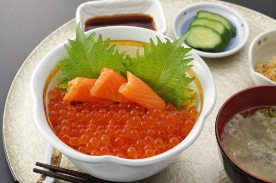今週のイチ丼!「食楽 しお彩」のキラキラいくら丼!