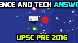 [Answer Key] UPSC CSAT 2016: Science & Tech Questions Solved in Hindi