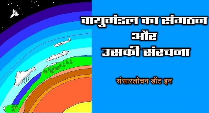 वायुमंडल का संगठन और उसकी संरचना – Atmosphere in Hindi