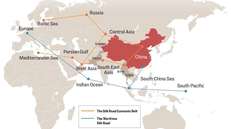 south pacific silk road