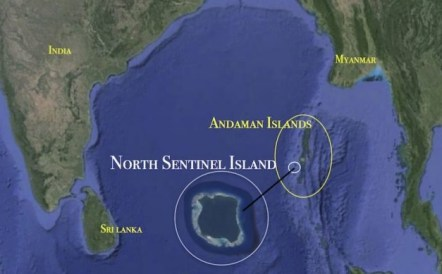 North Sentinel Island of the Andamans