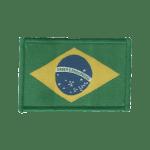 Etiqueta Bordada Pronta-Entrega - Bandeira do Brasil