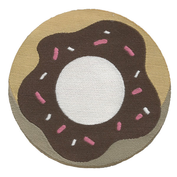 Patch Rosquinha | Sansil Etiquetas Bordadas