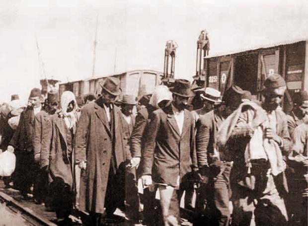 Πρόσφυγες της Σμύρνης, 1922