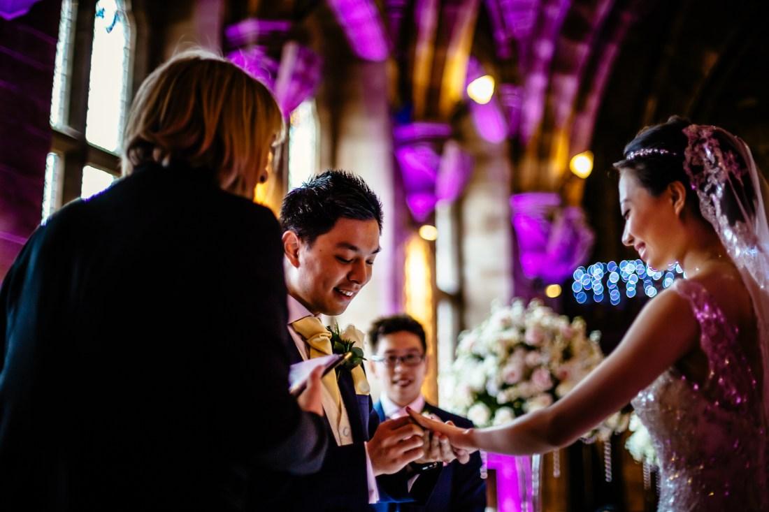 Sonia & Vincent - Sansom Photography Peckforton Castle Wedding Photography-63