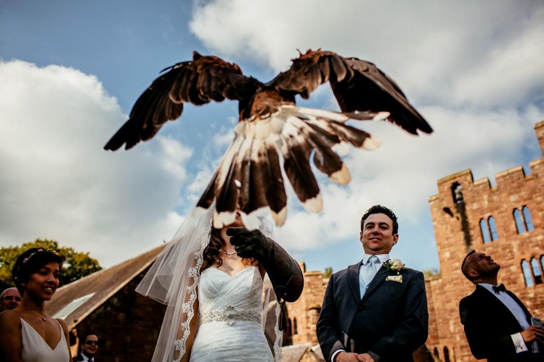 Emma & Alex Peckforton castle wedding - Sansom Photography-49
