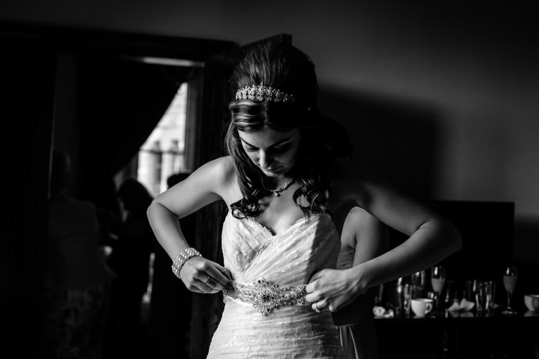 Emma & Alex Peckforton castle wedding - Sansom Photography-8