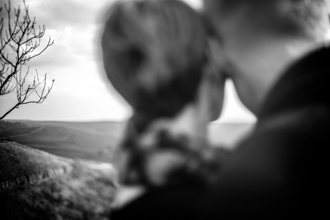 Helen & Adam Malham Cove engagement Photography Sansom photography-8