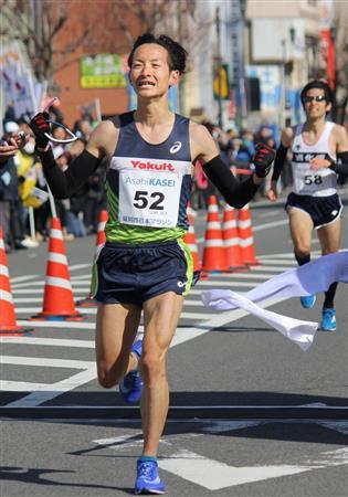 山崎、劇的な逆転V「決まった瞬間、あふれるものがあった」/マラソン