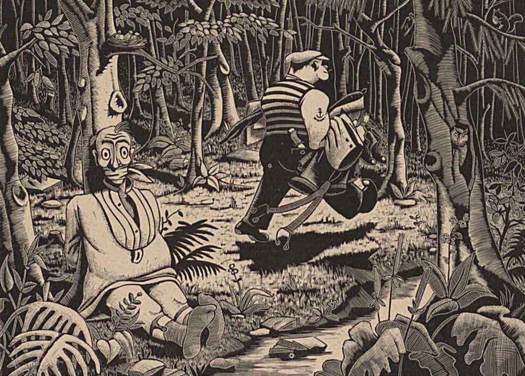 (1933) Waldweben (los murmullos del bosque)