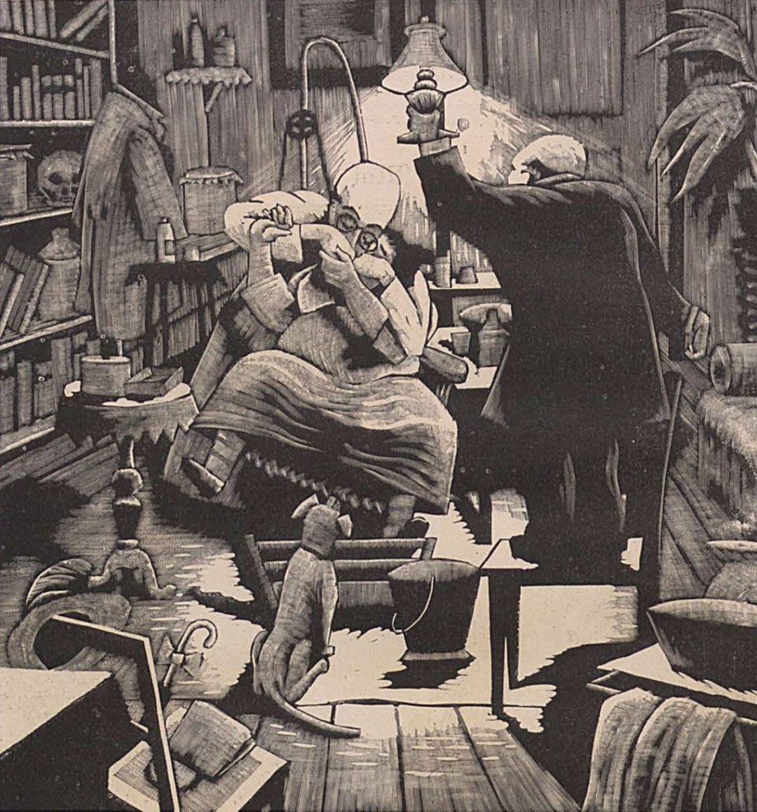 Tratamiento dental nocturno (1924)