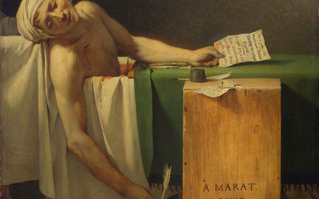 Las muertes de Marat. Imágenes de un mártir (o enemigo) de la Revolución