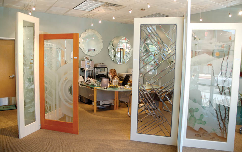 Etched Glass Frosted Glass Decorative Custom Glass