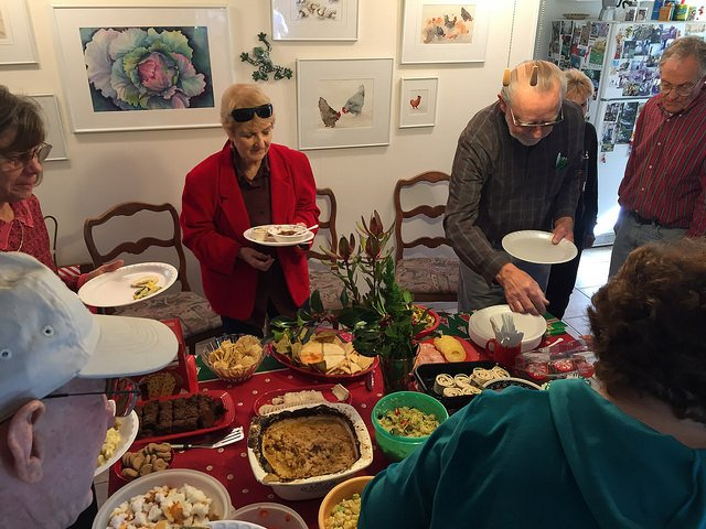 You are currently viewing August 2015 – Annual Summer Potluck And Raffle