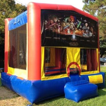 Star-Wars Bounce House