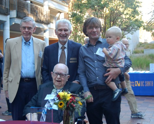 Harry Huskey Honored with Founding Faculty Award