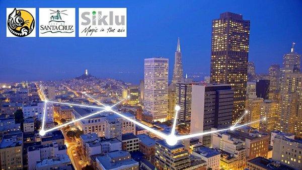 Siklu and Santa Cruz Announce Gigabit Project Using Fiber-Like Wireless