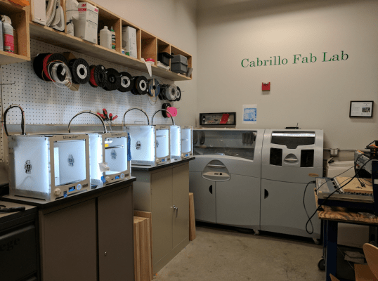 Cabrillo Fab Lab: Building Ideas