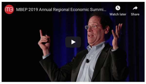 Recap: MBEP's 2019 Regional Economic Summit