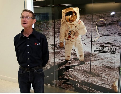 Poly celebrates its role in Apollo 11's launch to the moon