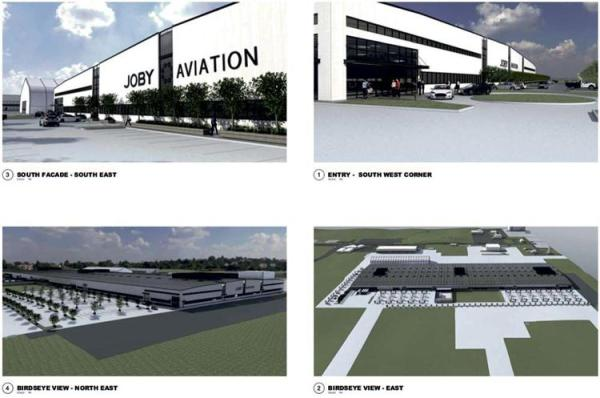 Joby Aviation plans to build a massive factory for flying cars in Marina