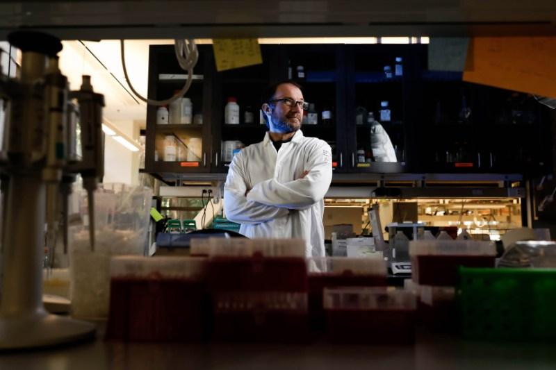 "Richard ""Ed"" Green, an associate professor of biomolecular engineering at UC Santa Cruz"