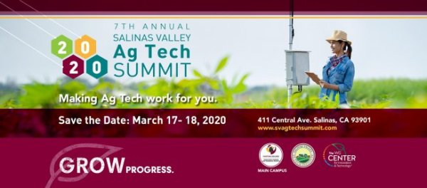Make Agtech Work For You at the 7th Annual Salinas Valley AgTech Summit