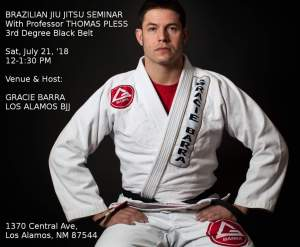 BJJ Seminar With Professor Pless